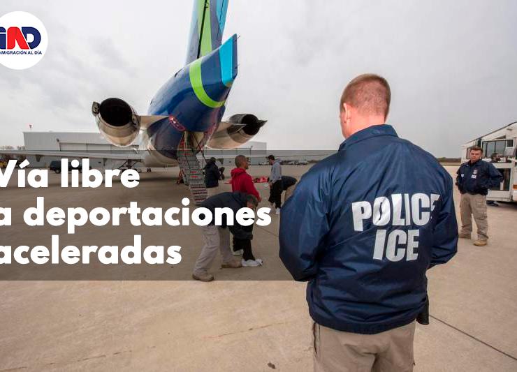 Corte da vía libre al gobierno para avanzar en programa de deportaciones aceleradas