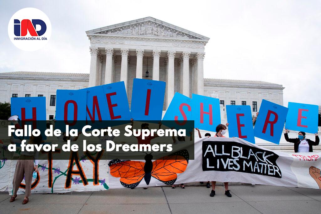 Fallo de la Corte Suprema a favor de los Dreamers