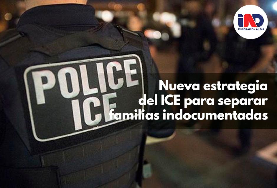 Nueva estrategia del ICE para separar familias y deportar inmigrantes durante la pandemia.